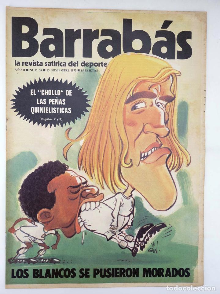 Coleccionismo deportivo: BARRABÁS, REVISTA SATÍRICA DEL DEPORTE. LOTE DE 209NºS DE 242 ELF (Vvaa) Elf, 1972 - Foto 6 - 96011372