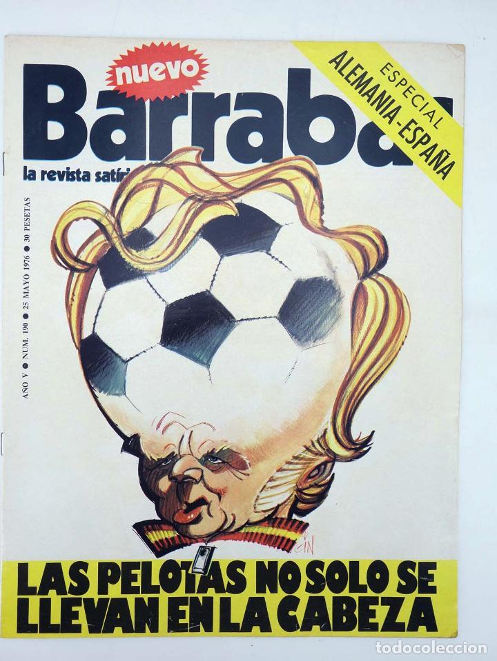 Coleccionismo deportivo: BARRABÁS, REVISTA SATÍRICA DEL DEPORTE. LOTE DE 209NºS DE 242 ELF (Vvaa) Elf, 1972 - Foto 8 - 96011372