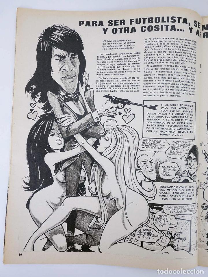 Coleccionismo deportivo: BARRABÁS, REVISTA SATÍRICA DEL DEPORTE. LOTE DE 209NºS DE 242 ELF (Vvaa) Elf, 1972 - Foto 9 - 96011372