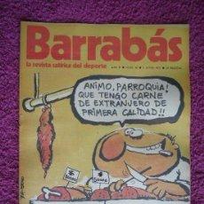 Coleccionismo deportivo: BARRABÁS, REVISTA SATÍRICA DEL DEPORTE, AÑO II - 1973, Nº 36.. Lote 96590291