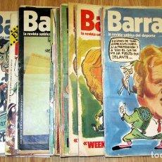 Coleccionismo deportivo: LOTE 54 REVISTAS BARRABAS ENTRE 55 Y EL 182 AÑOS 1973 1974 1975 1976. Lote 99314967