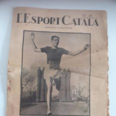 Collectionnisme sportif: ESPORT CATALA - DIARIO DEPORTIVO - AÑO 1926. Lote 100042695