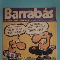 Coleccionismo deportivo: REVISTA DE FÚTBOL BARRABÁS DEL F.C BARCELONA POSTER LA MARGARITA R.C.D.MALLORCA Nº 31 AÑO 1973. Lote 105795363