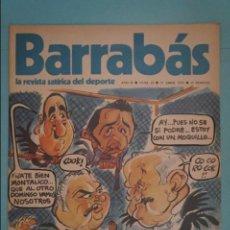 Coleccionismo deportivo: REVISTA DE FÚTBOL BARRABÁS DEL F.C BARCELONA POSTER LA FRANCISCA REAL VALLADOLID CF. Nº 29 AÑO 1973. Lote 105796103