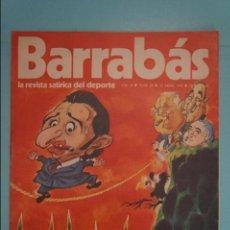 Coleccionismo deportivo: REVISTA DE FÚTBOL BARRABÁS DEL F.C BARCELONA SIN POSTER Nº 28 AÑO 1973. Lote 105796307