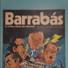 Coleccionismo deportivo: REVISTA DE FÚTBOL BARRABÁS DEL F.C BARCELONA SIN POSTER Nº 27 AÑO 1973. Lote 105796531