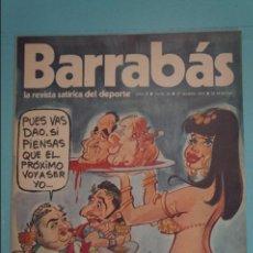 Coleccionismo deportivo: REVISTA DE FÚTBOL BARRABÁS DEL F.C BARCELONA SIN POSTER Nº 26 AÑO 1973. Lote 105796599