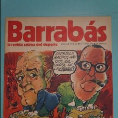 Coleccionismo deportivo: REVISTA DE FÚTBOL BARRABÁS DEL F.C BARCELONA SIN POSTER Nº 25 AÑO 1973. Lote 105796675