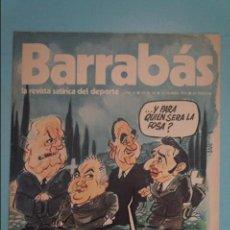 Coleccionismo deportivo: REVISTA DE FÚTBOL BARRABÁS DEL F.C BARCELONA SIN POSTER Nº 24 AÑO 1973. Lote 105796743