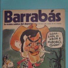 Coleccionismo deportivo: REVISTA DE FÚTBOL BARRABÁS DEL F.C BARCELONA SIN POSTER Nº 23 AÑO 1973. Lote 105796891