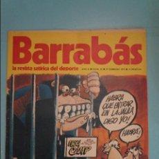 Coleccionismo deportivo: REVISTA DE FÚTBOL BARRABÁS DEL F.C BARCELONA SIN POSTER Nº 22 AÑO 1973. Lote 105797019
