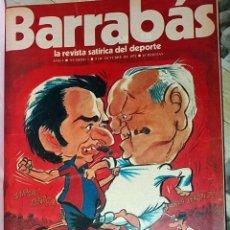 Coleccionismo deportivo: TOMO BARRABAS REVISTA DEPORTIVO SATIRICA - DEL Nº 1 AL 63 - 1972-1973 CON POSTERS CENTRALES. Lote 111445782