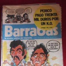 Coleccionismo deportivo: BARRABÁS. LA REVISTA SATÍRICA DEL DEPORTE. Nº171. 1/1976. Lote 115339823
