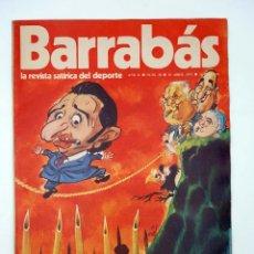 Coleccionismo deportivo: BARRABÁS. LA REVISTA SATÍRICA DEL DEPORTE 28. (VVAA) ELF, 1973. Lote 117217694