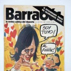 Colecionismo desportivo: BARRABÁS. LA REVISTA SATÍRICA DEL DEPORTE 45. UN SUEÑO IRREALIZABLE (VVAA) ELF, 1973. Lote 117217844