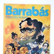 Coleccionismo deportivo: BARRABÁS. LA REVISTA SATÍRICA DEL DEPORTE 60. EMBAJADA ARTISTISTICA A STUTTGART (VVAA) ELF, 1973. Lote 117217892
