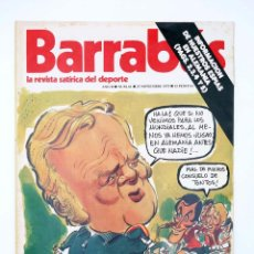 Coleccionismo deportivo: BARRABÁS. LA REVISTA SATÍRICA DEL DEPORTE 61. WEEK END EN STUTTGART (VVAA) ELF, 1973. Lote 117217896