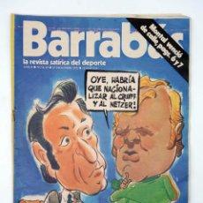 Coleccionismo deportivo: BARRABÁS. LA REVISTA SATÍRICA DEL DEPORTE 65. CONTINÚA EL SUSPENSE (VVAA) ELF, 1973. Lote 117217912