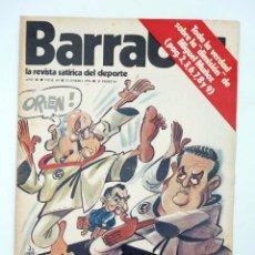 Coleccionismo deportivo: BARRABÁS. LA REVISTA SATÍRICA DEL DEPORTE 69. KÁRATE EN EL REAL MADRID (VVAA) ELF, 1974. Lote 117217928