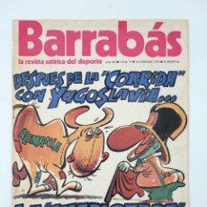 Coleccionismo deportivo: BARRABÁS. LA REVISTA SATÍRICA DEL DEPORTE 73. LA CHARLOTADA DEL SARRIÁ (VVAA) ELF, 1974. Lote 117217940