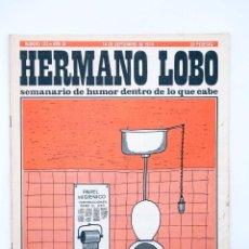 Coleccionismo deportivo: HERMANO LOBO 123. SEMANARIO DE HUMOR DENTRO DE LO QUE CABE (VVAA) PLEYADES, 1974. Lote 117217952