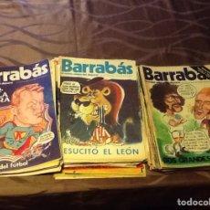 Coleccionismo deportivo: LOTE REVISTAS BARRABAS AÑOS 70. Lote 119176948