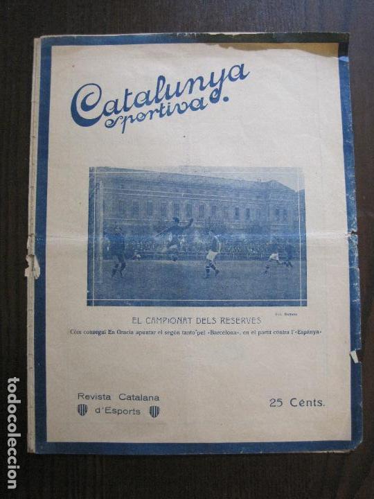 CATALUNYA SPORTIVA- BARCELONA- ESPANYA -VER FOTOS-(V-14.550) (Coleccionismo Deportivo - Revistas y Periódicos - Catalunya Sportiva)