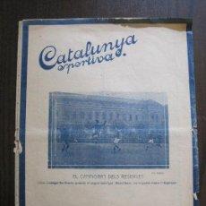 Coleccionismo deportivo: CATALUNYA SPORTIVA- BARCELONA- ESPANYA -VER FOTOS-(V-14.550). Lote 121175543