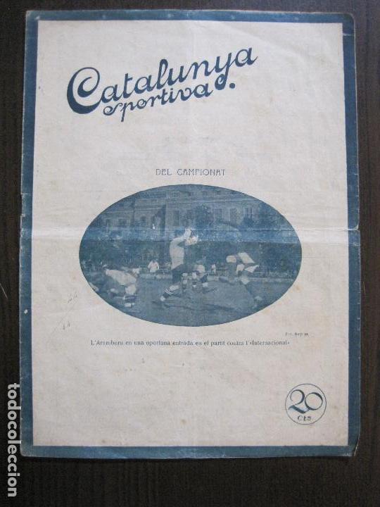 CATALUNYA SPORTIVA- BISCAIA CATALUNYA -ANY 1920 -VER FOTOS-(V-14.551) (Coleccionismo Deportivo - Revistas y Periódicos - Catalunya Sportiva)
