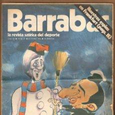 Coleccionismo deportivo: REVISTA BARRABAS AÑO III Nº 67 - ENERO 1974. Lote 125227775