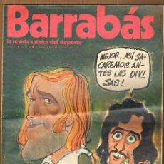 Coleccionismo deportivo: REVISTA BARRABAS AÑO III Nº 76 - MARZO 1974. Lote 125227851