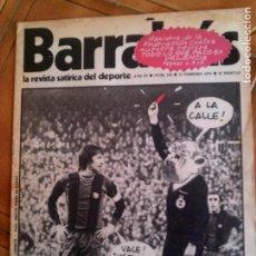 Coleccionismo deportivo: REVISTA BARRABAS N,124 DE 1975 PORTADA CRUYFF. Lote 131248279