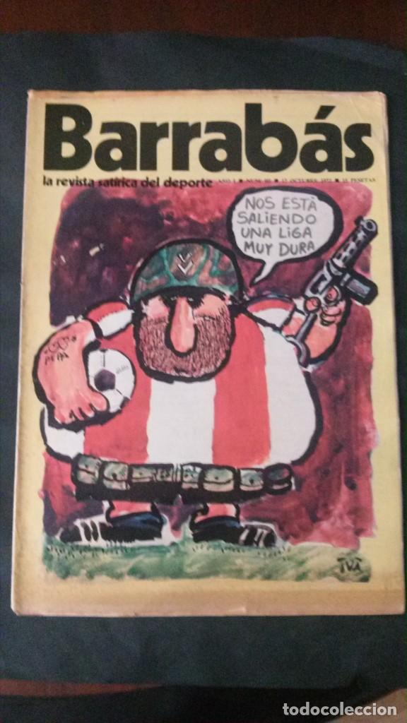 BARRABÁS 3-1972 (Coleccionismo Deportivo - Revistas y Periódicos - Barrabás)