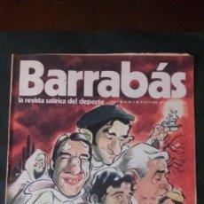 Coleccionismo deportivo: BARRABAS 5-1972. Lote 135907498