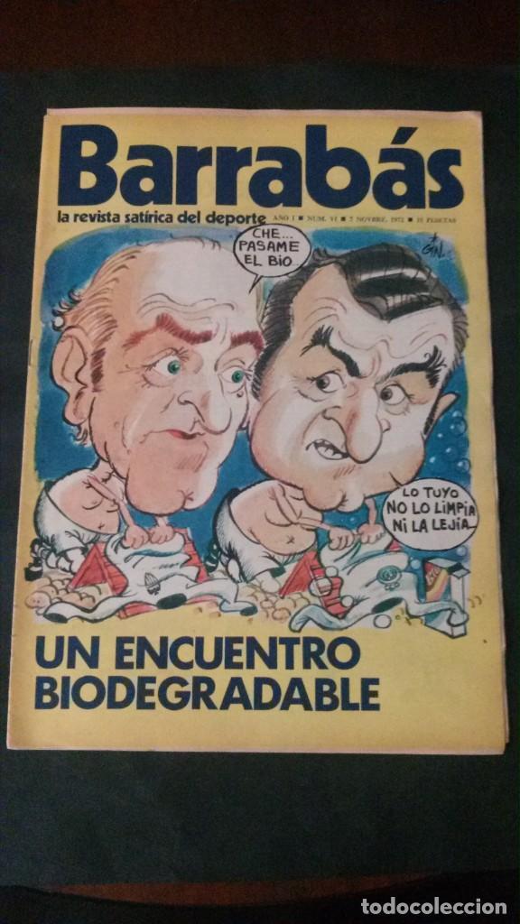 BARRABAS 6-1972 (Coleccionismo Deportivo - Revistas y Periódicos - Barrabás)