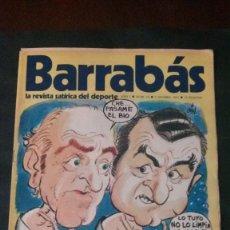Coleccionismo deportivo: BARRABAS 6-1972. Lote 135907554