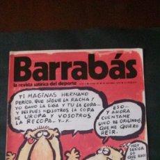 Coleccionismo deportivo: BARRABAS 9-1972. Lote 135907626