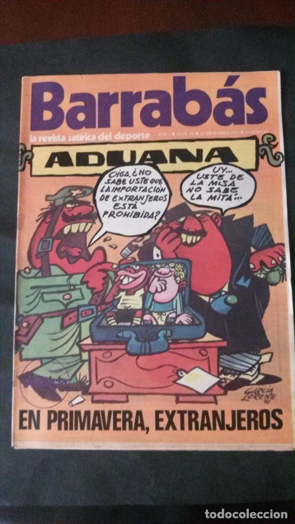 BARRABAS 11-1972 (Coleccionismo Deportivo - Revistas y Periódicos - Barrabás)