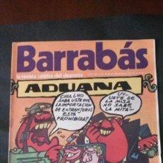 Coleccionismo deportivo: BARRABAS 11-1972. Lote 135907722