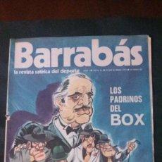 Coleccionismo deportivo: BARRABAS 12-1972. Lote 135907754