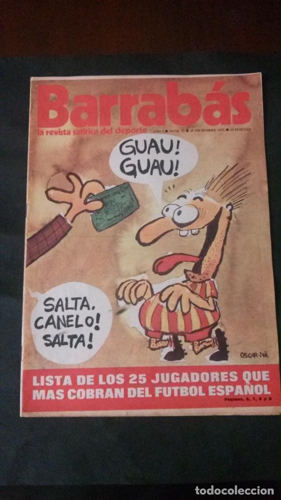 BARRABAS 13-1972 (Coleccionismo Deportivo - Revistas y Periódicos - Barrabás)