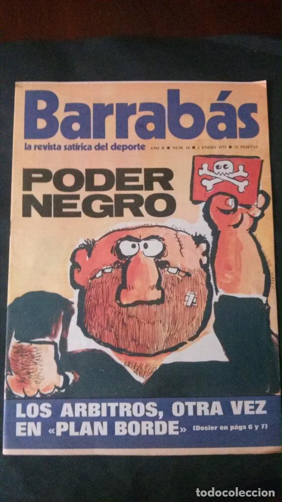 BARRABAS 14-1973 (Coleccionismo Deportivo - Revistas y Periódicos - Barrabás)