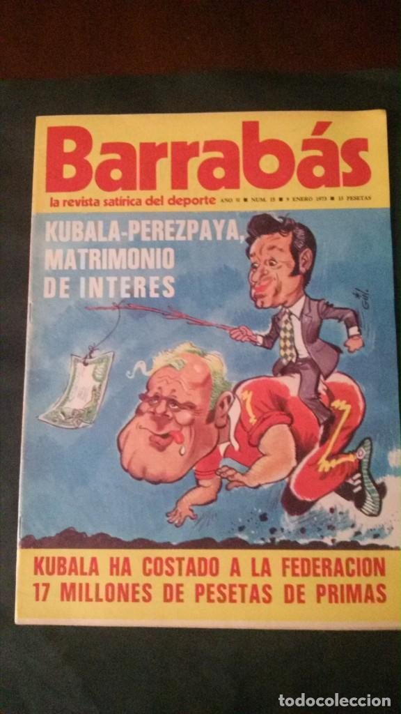 BARRABAS 15-1973 (Coleccionismo Deportivo - Revistas y Periódicos - Barrabás)