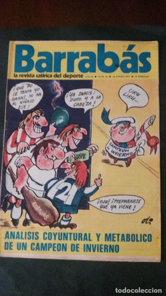 BARRABAS 16-1973 (Coleccionismo Deportivo - Revistas y Periódicos - Barrabás)