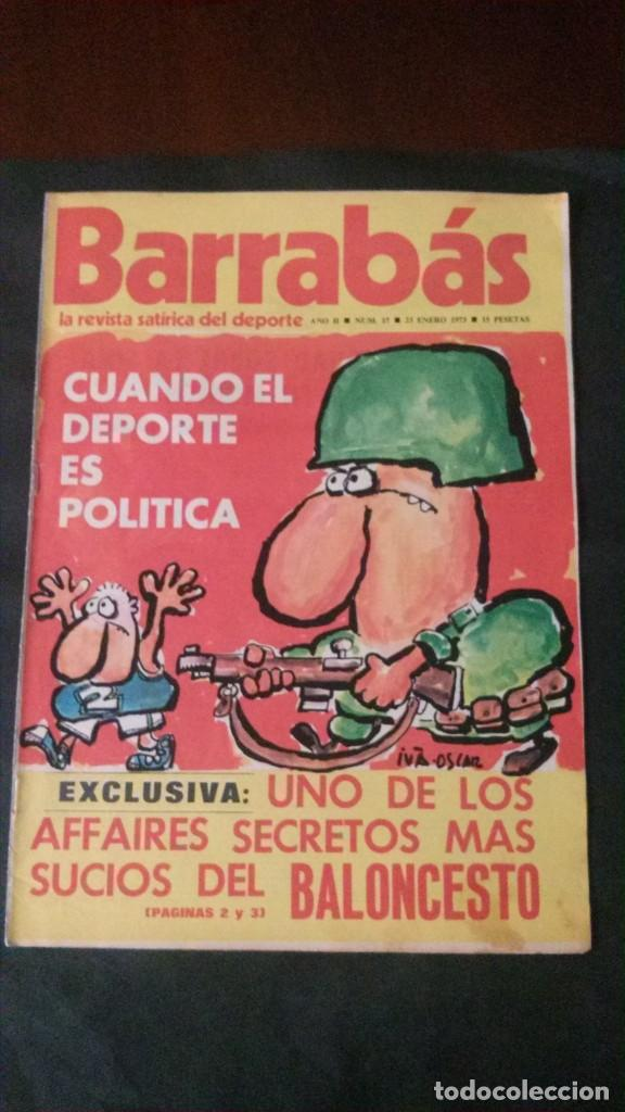 BARRABAS 17-1973 (Coleccionismo Deportivo - Revistas y Periódicos - Barrabás)