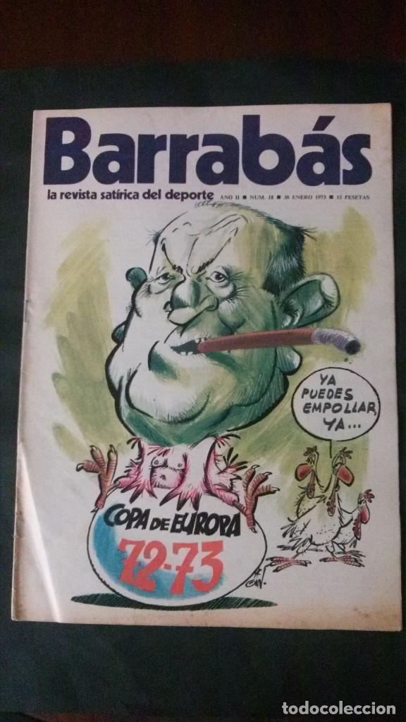 BARRABAS 18-1973 (Coleccionismo Deportivo - Revistas y Periódicos - Barrabás)