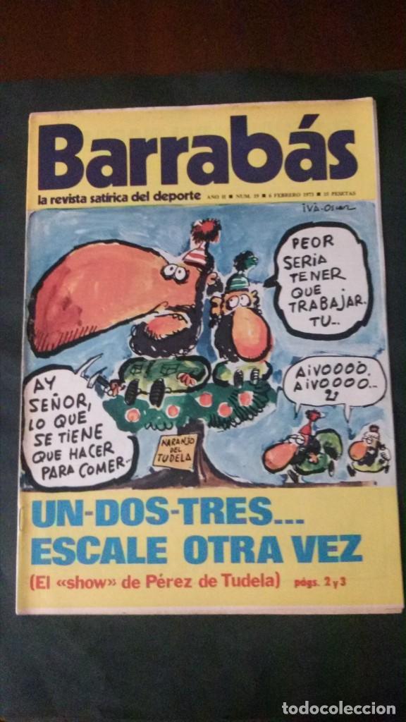BARRABAS 19-1973 (Coleccionismo Deportivo - Revistas y Periódicos - Barrabás)