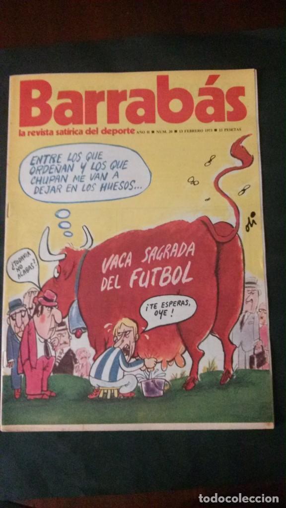 BARRABAS 20-1973 (Coleccionismo Deportivo - Revistas y Periódicos - Barrabás)