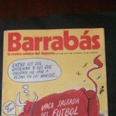 Coleccionismo deportivo: BARRABAS 20-1973. Lote 135908774