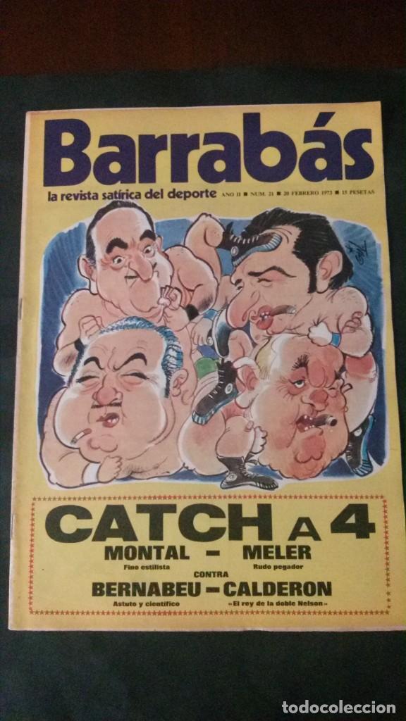 BARRABAS 21-1973 (Coleccionismo Deportivo - Revistas y Periódicos - Barrabás)